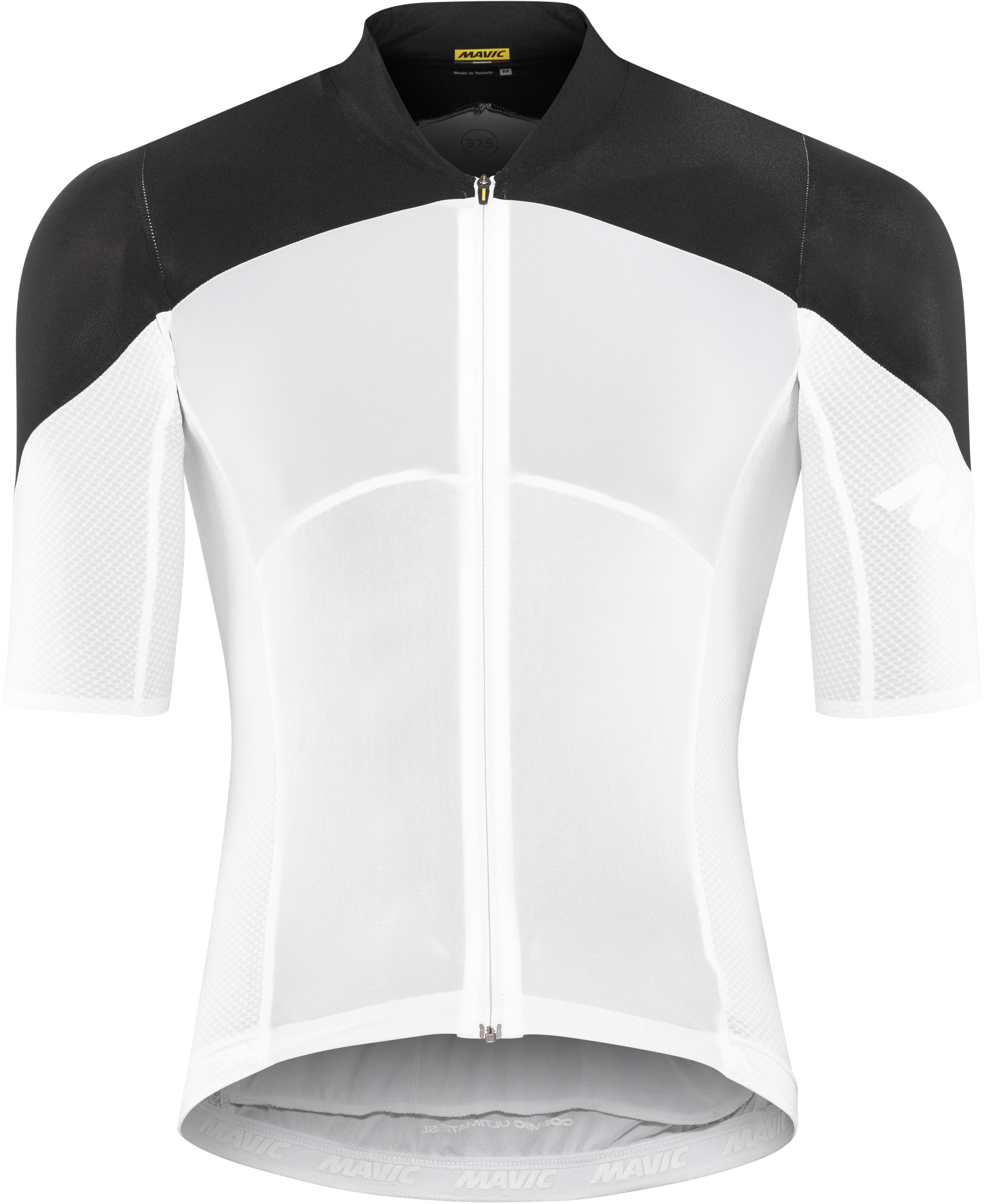 fcf5593b4 Mavic Cosmic Ultimate Bike Jersey Shortsleeve Men white black at ...